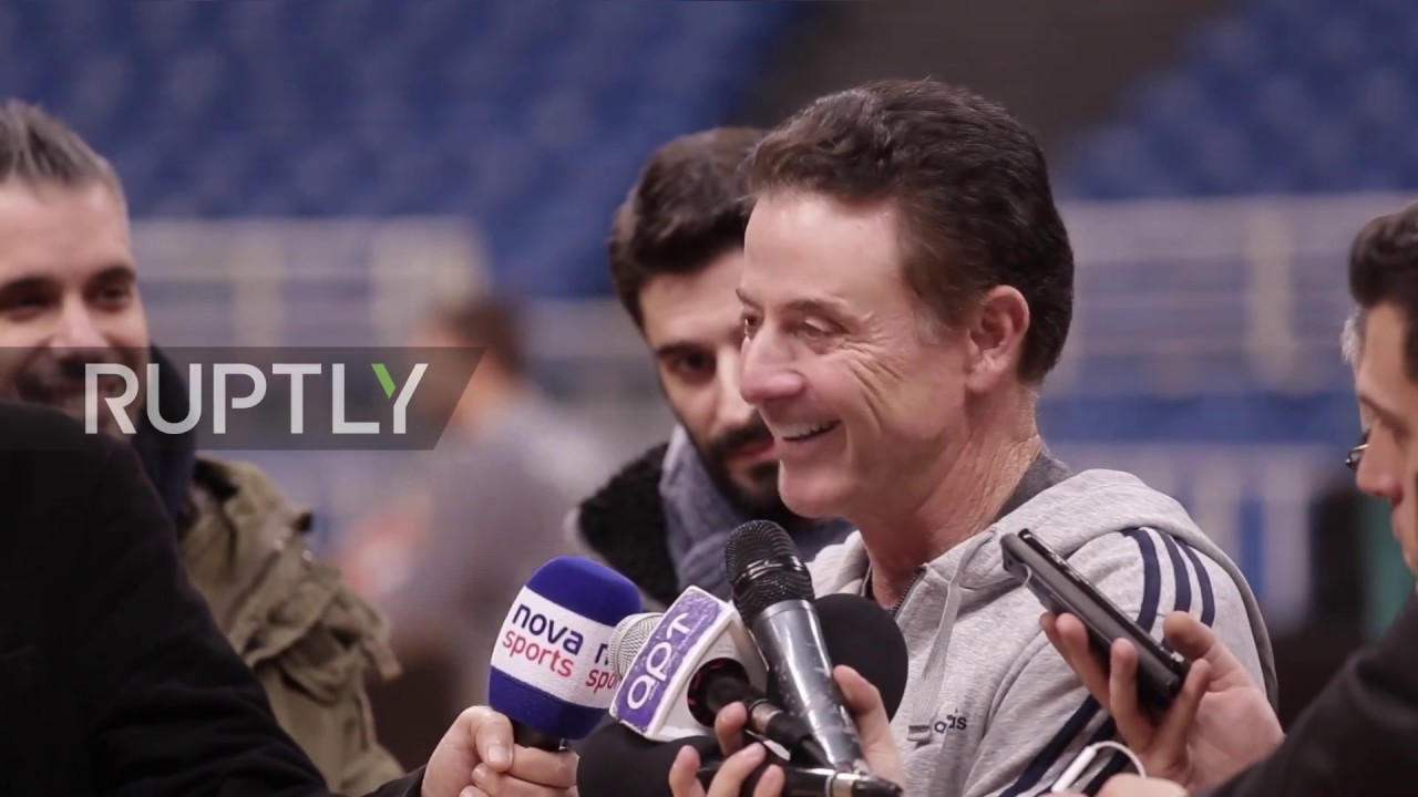 61c702bfed7 Greece  Panathinaikos  new coach Pitino vows to  play harder  before CSKA  clash