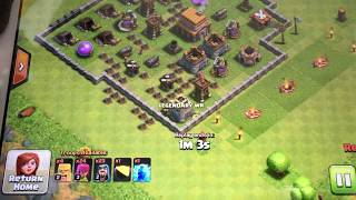 Clash of clans: I won the fight, my base survived