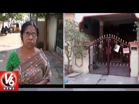 Chain Snatchers Attack Woman In Meerpet, Robs Rs 1 Lakh Gold Chain | Hyderabad | V6 News