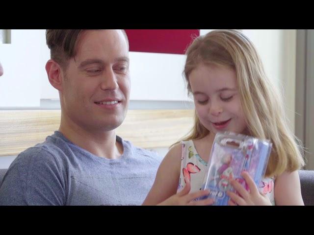 מיזם מברשת חשמלית לכל ילד בן 3 – משפחת לדרגור