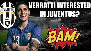 JUVENTUS - HINTS OF MARCO VERRATTI LEAVING PSG | Serie A Transfer News