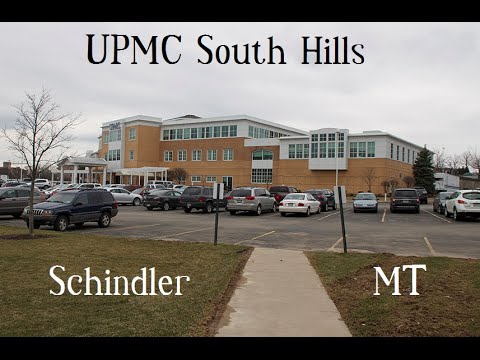 Schindler in UPMC South Hills Building
