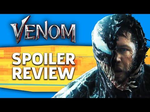 Venom Movie Review & End Credits Scenes Explained
