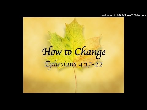 Be Renewed in the Spirit of Your Mind: Ephesians 4:23