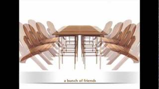 Cedar Crossing New Designs For 2012 With Tsunami Rocker And Innovative Table.