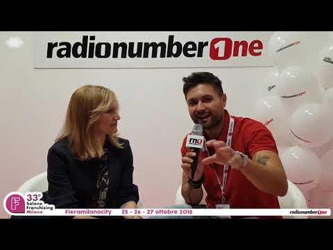 Intervista ad Elena Delfino @ Salone Franchising Milano by Radio Number One