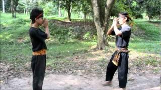 Silat Harimau Berantai - Kristal Heights Sri Gombak Selangor  Part 1