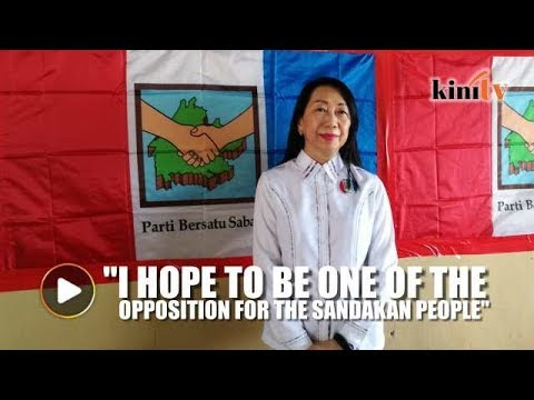 I hope to be the opposition voice for the people of Sandakan, says PBS candidate
