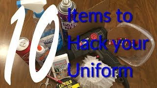10 Items to Hack Your Uniform (Items to use for a Sharper Uniform)