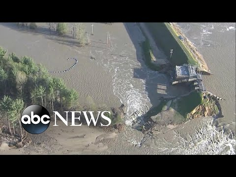 Central Michigan suffers two dam collapses in hours   WNT