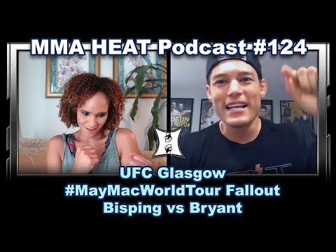 MMA H.E.A.T. Podcast #124: UFC Glasgow, #MayMacWorldTour Fallout + Bisping's Rants