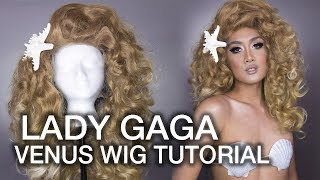 Lady Gaga VENUS Inspired Wig Styling Tutorial (How To Pin Curl & Stack Wigs)