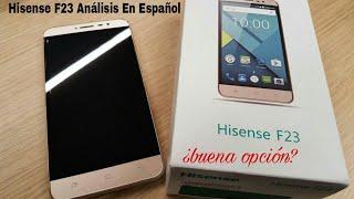Hisense F23: Análisis de un móvil bueno, bonito y barato/ En Español