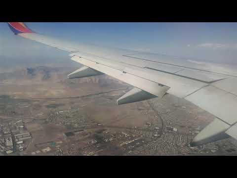 San Jose to Las Vegas Take Off & Landing - Southwest Airlines