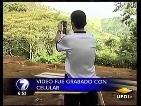 UFO In Acosta, Costa Rica