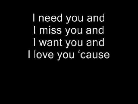You were my everything - Intrumental+Lyrics