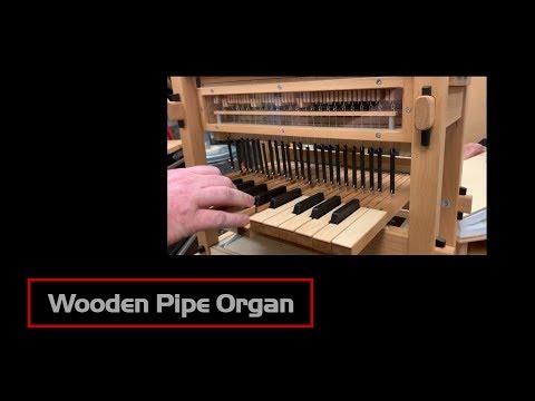 Wooden Pipe Organ
