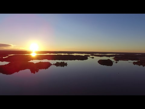 Mälaren from above - DJI Phantom 3 Standard