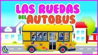 Las Ruedas del Autobús | Canciones para niños | Canciones infantiles para preescolar