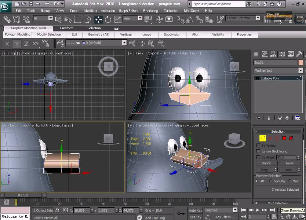 3d studio max tutorial modeling 3d modeling a crazy for 3d max tutorial