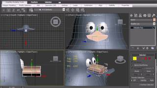 Repeat youtube video 3D Studio Max tutorial Modeling:  3d modeling a Crazy penguin by the3dultimate.com