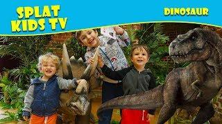 Dinosaurs Caught on Camera in Real Life Highcliffe Castle Dinosaur Hunt