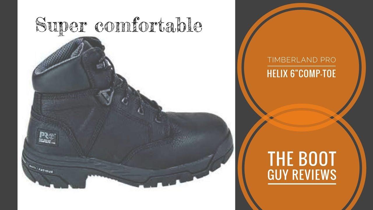Timberland PRO Helix 6 Inch Waterproof Composite Toe Work Boot 87517