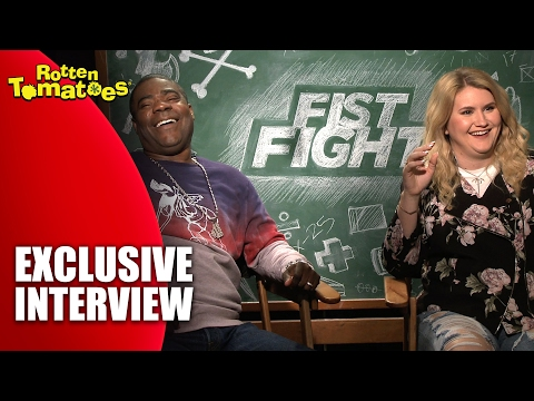 Favorite Swear Words with Tracy Morgana and Jillian Bell - Exclusive 'Fist Fight' Interview (2017)