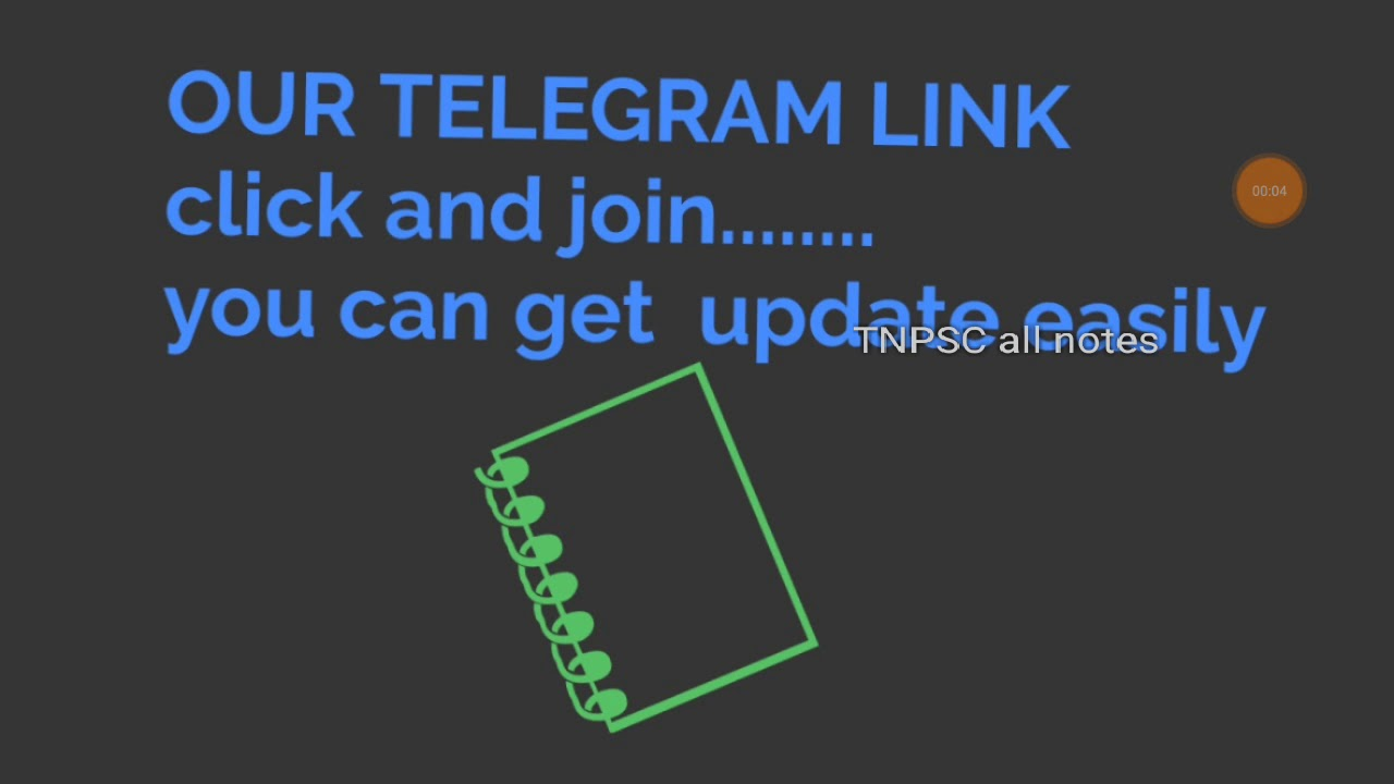 TNPSC all notes -telegram group link