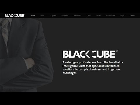 Israeli Private Intelligence Company Black Cube Out of Control