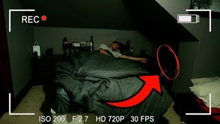 DO NOT RECORD YOURSELF SLEEPING AT 3AM // PARANORMAL SLEEP CAUGHT ON CAMERA!
