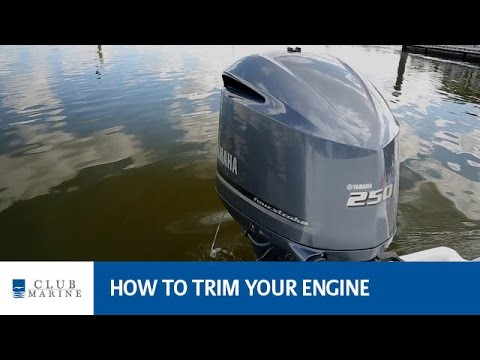 How to trim your engine with Alistair McGlashan