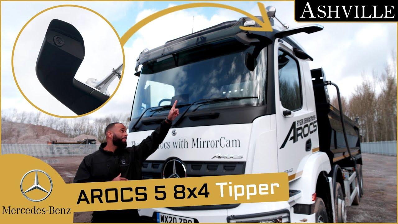 Download Mercedes-Benz Arocs 5 3243K 8x4 Tipper Truck In-Depth Review