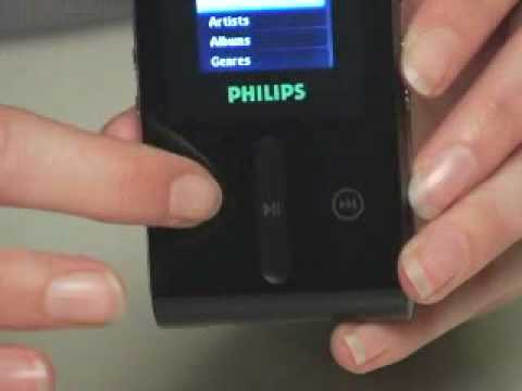 Philips HDD1630/17B MP3 Player 64 Bit