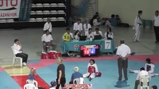 41kg SEMIFINAL - Zeynep Taskin vs İdil Zafer (2017 Turkish Cadet Taekwondo Championships)