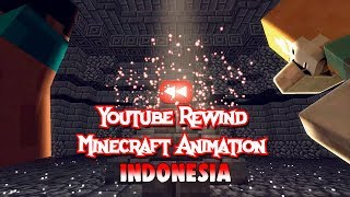 Minecraft REWIND Animation Indonesia 2018 Ft Youtuber Minecraft indonesia TRAILER