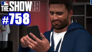 OPPONENT TEXTS ME TRASH TALK BEFORE GAME! | MLB The Show 19 | Road to the Show #758