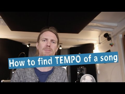 How To Detect BPM / TEMPO in a Song/Beat -  Logic X BPM counter