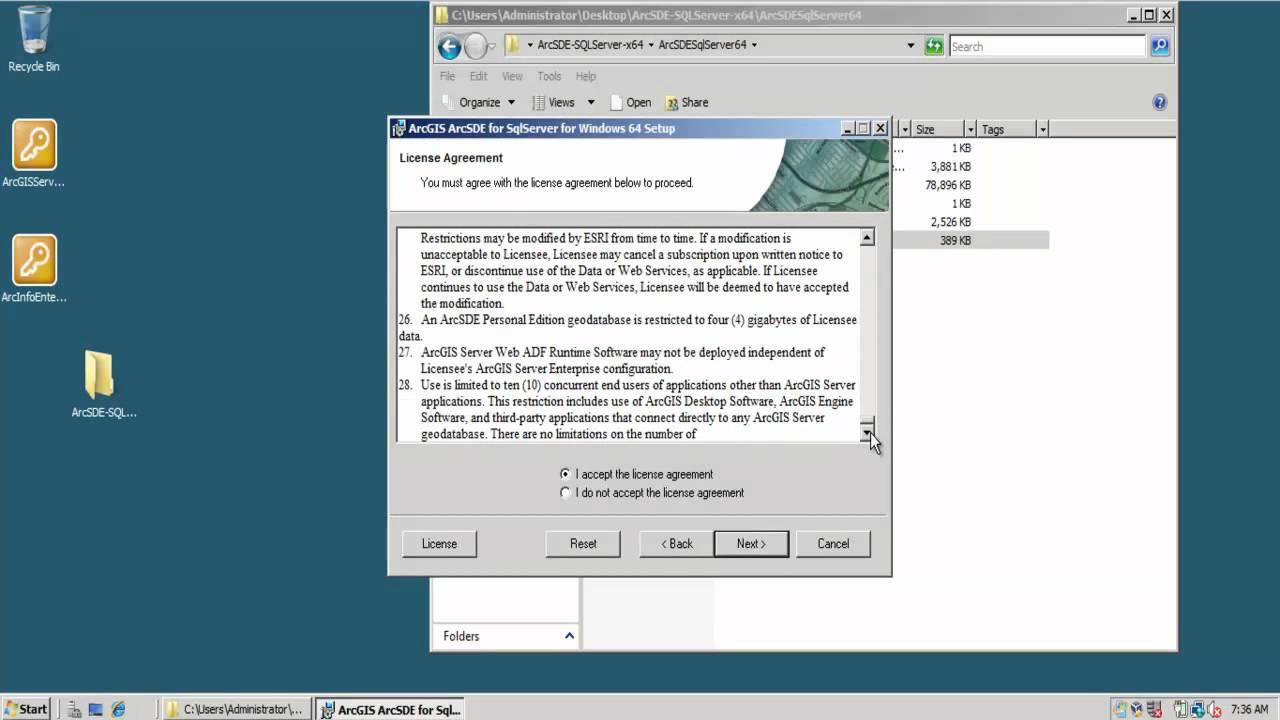 Installation of ArcSDE 10 on SQL Server 2008 R2