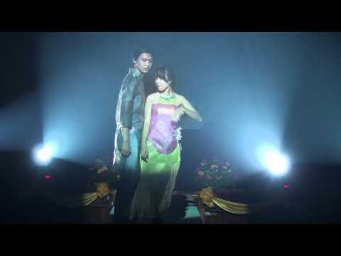 Biểu diễn thời trang giấy (lời trái tim 2011)