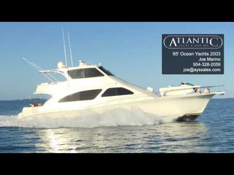 65' Ocean Yachts 2003
