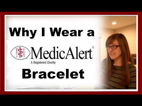 Why I Wear a Medic Alert Bracelet