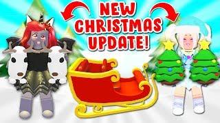 NEW CHRISTMAS UPDATE Iฑ Adopt Me With Iamsanna! (Roblox)