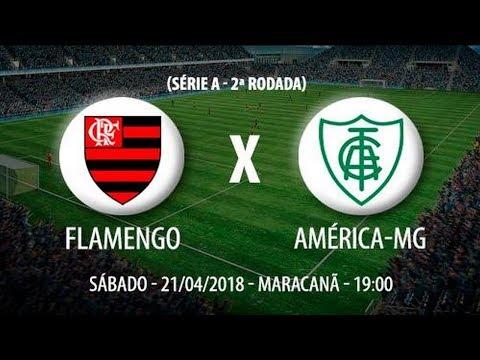 Escalação do Flamengo contra o América Mineiro campeonato Brasileiro despedida do Júlio César Maraca
