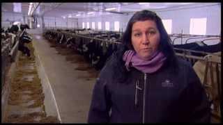 Sabrina Caron - Passionnée de production laitière