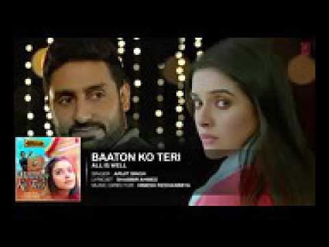 Baaton Ko Teri Full AUDIO Song Arijit Singh