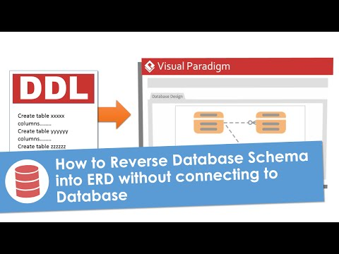 How to Reverse Database Schema into ERD without connecting to Database