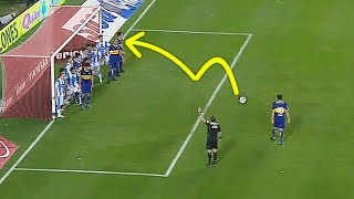 Top 10 Free Kick Goals Inside Penalty Box