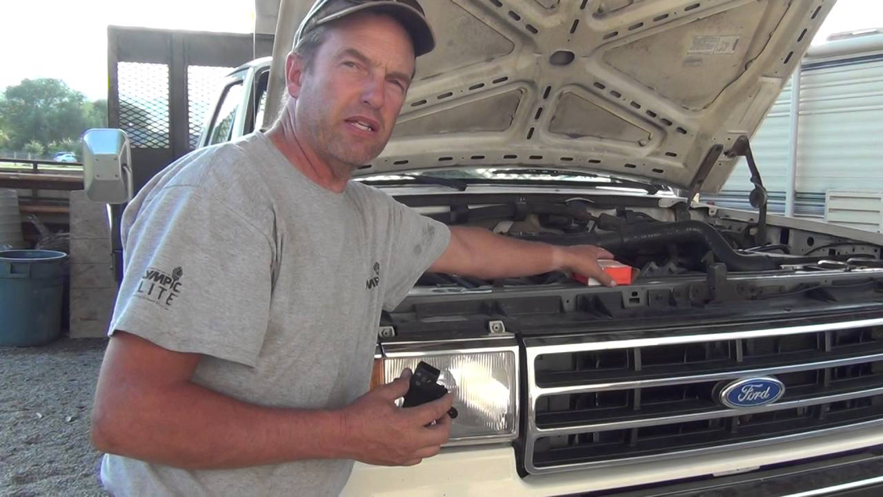 small resolution of 1990 ford 460 7 5 efi hesitation idle problem solution