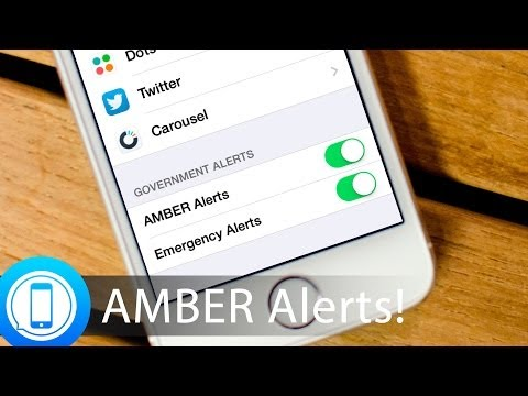 AMBER Alerts on your iPhone: What they are and how to manage them!